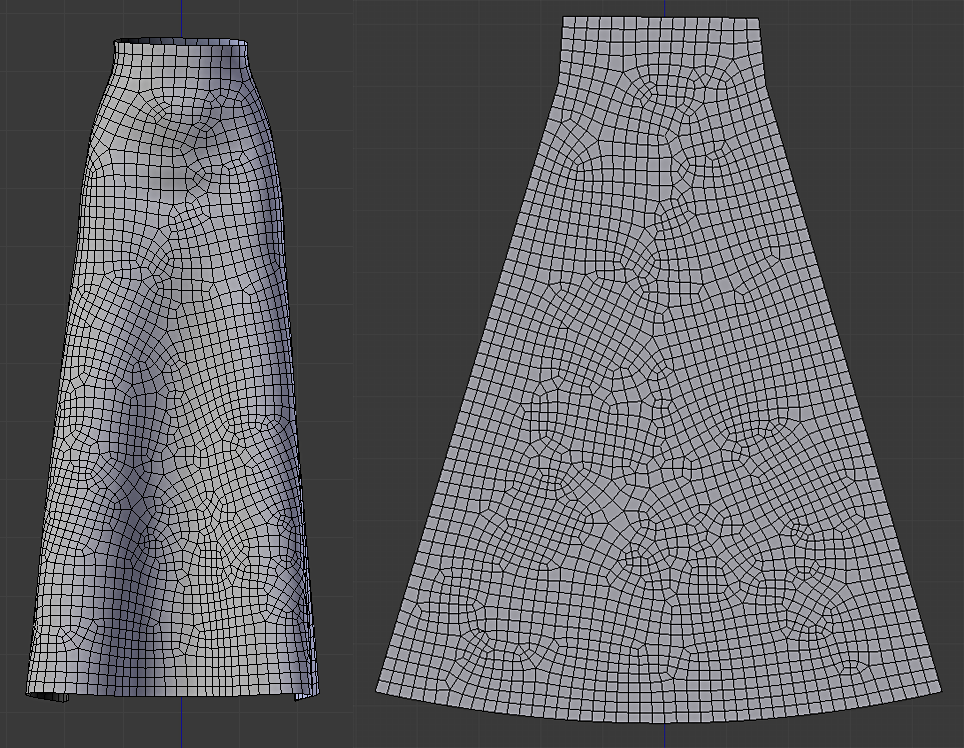 Using the Surface Deform modifier with Marvelous Designer